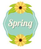 Spring season design Stock Photos