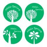 Spring season icon Royalty Free Stock Photo