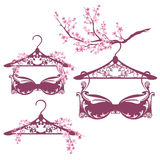 Spring season lingerie set Stock Photography