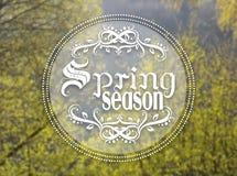 Spring season Stock Photography