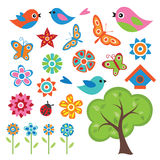Colorful Spring Set Royalty Free Stock Photo
