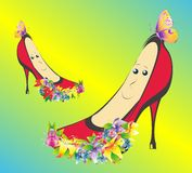 Spring shoes, Royalty Free Stock Photo