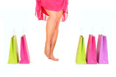 Spring shopping Stock Photography