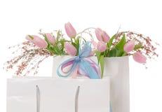 Spring shopping Stock Photo