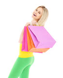 Spring shopping Stock Image