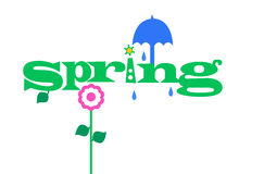 Spring showers Stock Photos