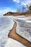 Spring. Siberia, river Ob Stock Photo