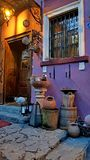 Spring in Sighisoara. Sighisoara, medieval citadel. One of the most colourful city Stock Photo
