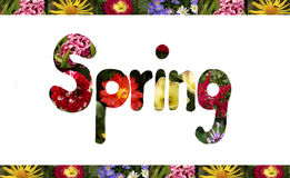 Spring sign Royalty Free Stock Photos
