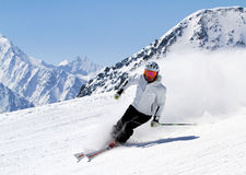 Spring skiing in Austria 3. Royalty Free Stock Photo