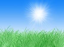 Spring sky Vector Illustration
