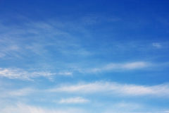 Spring sky. Royalty Free Stock Images