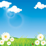 Spring Sky Background Royalty Free Stock Image