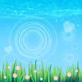 Spring sky background. Vector for your design.  Stock Photos