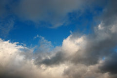 Spring sky after rain. Royalty Free Stock Photography