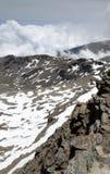 Spring slope of Veleta in the Sierra Nevada Royalty Free Stock Photography