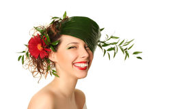 Spring smile Stock Photography