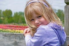 Spring Smile Royalty Free Stock Photos