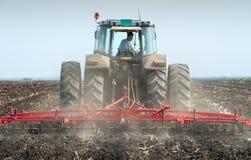 Spring Soil Preparation Stock Image