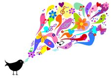 Spring song Royalty Free Stock Photo