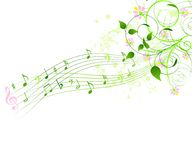 Spring song background Stock Images