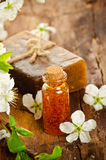 Spring spa background Stock Images