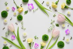 Spring Spa or greeting card concept Royalty Free Stock Image