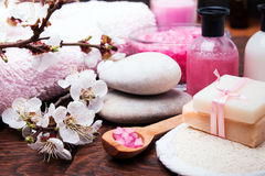 Spring spa still life Stock Photography