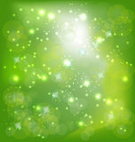 Spring sparkle background Royalty Free Stock Photos