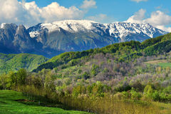 Spring. Time in Buila-Vanturarita Mountains, Romania Stock Photography