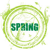 Spring stamp Stock Photos