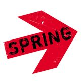 Spring stamp rubber Stock Images