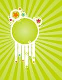 Spring stars frame Royalty Free Stock Photos