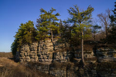 Spring in Starved Rock. Stock Photography