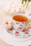 Spring still life, cuppa Royalty Free Stock Photo