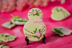 Spring Still Life of Gingerbread. stock photos
