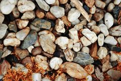 Spring stones in natural colors Royalty Free Stock Images