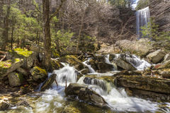 Spring at Stony Kill Falls Royalty Free Stock Images