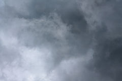 Spring Storm Brewing. In the afternoon in North Carolina Stock Photos