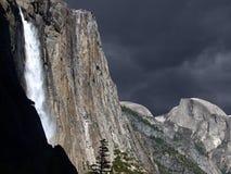 Spring Storm Yosemite Falls Stock Photos