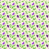 Spring Style Seamless Background Floral Pattern Royalty Free Stock Photo