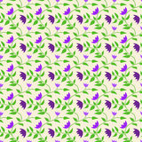 Spring style seamless background floral pattern Stock Image