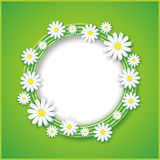 Abstract spring or summer background with flower Royalty Free Stock Photos