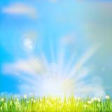 Spring or summer abstract nature. EPS 10 Royalty Free Stock Photos