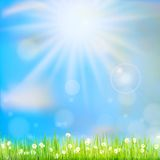 Spring or summer abstract nature. EPS 10 Stock Photos