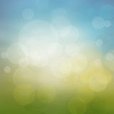 Spring or summer abstract season nature background Stock Images