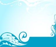 Spring summer background. An illustration of spring summer concept Stock Image