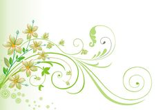 Spring and Summer Background. Royalty Free Stock Image