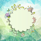 Spring or summer background Royalty Free Stock Image