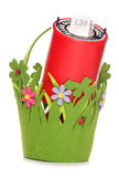 Spring and summer charity donation Royalty Free Stock Images